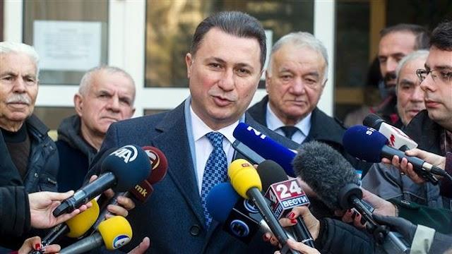 Macedonian President Gjorge Ivanov named veteran conservative Nikola Gruevski as PM-designate