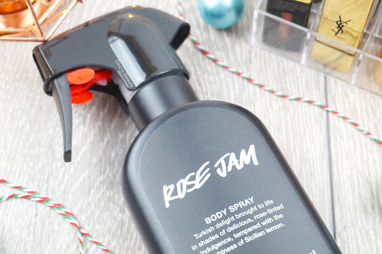 bbloggers, beauty, beauty bloggers, beauty review, Lush, Lush Nottingham, Rose Jam, Body Spray, rose, turkish delight, Rose Jam Body Spray, floral, notes, perfumed, rose petals