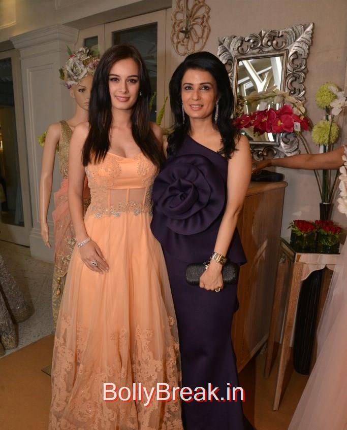 Evelyn Sharma, Divya   Gurwara, Anchal, Evelyn, Arpita at Bridal Asia Show Media Preview