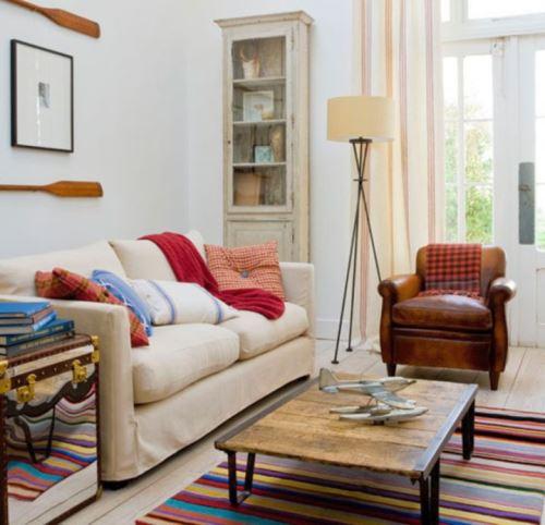 Dekorasi Ruang Tamu Bergaya Vintage