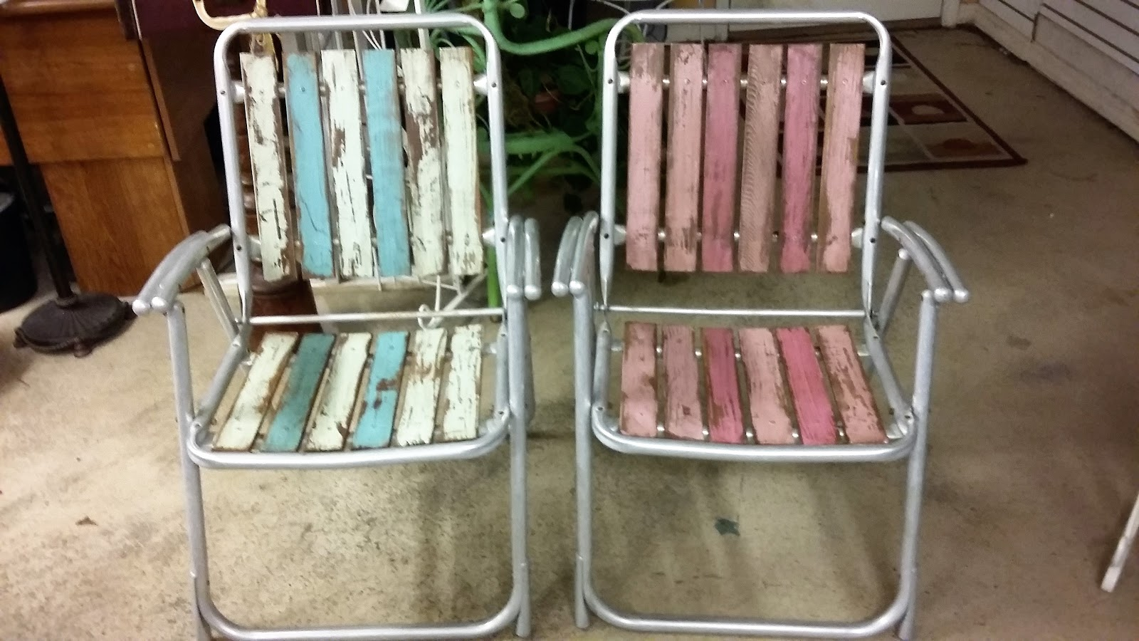 folding chair upcycle perfect posture chairs coastal bohemian vintage