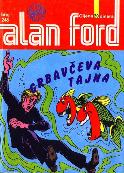 Grbavceva tajna - Alan Ford