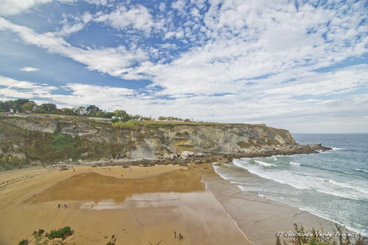 Playa de Mataleñas - Santander por El Guisante Verde Project