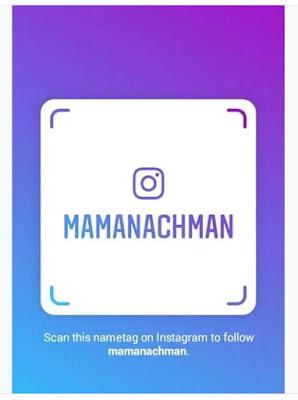 Nametag Instagram