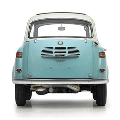 CLASSIC CARS: MINI BMW CAR MODEL 600 | modern