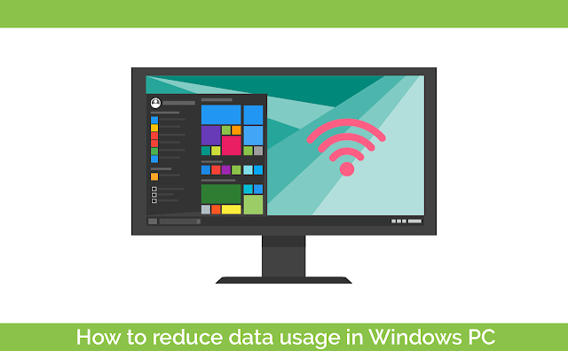 Reduce data usage in Windows