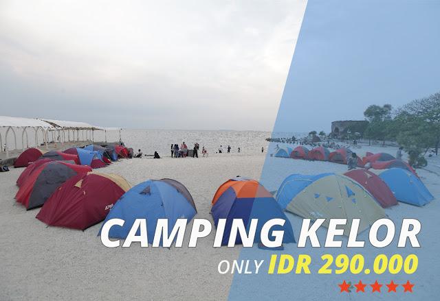 Paket Camping Pulau Kelor