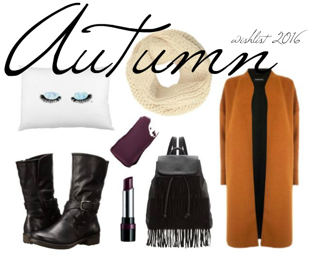 Autumn Wishlist by Kayleigh at Scampi & Chips