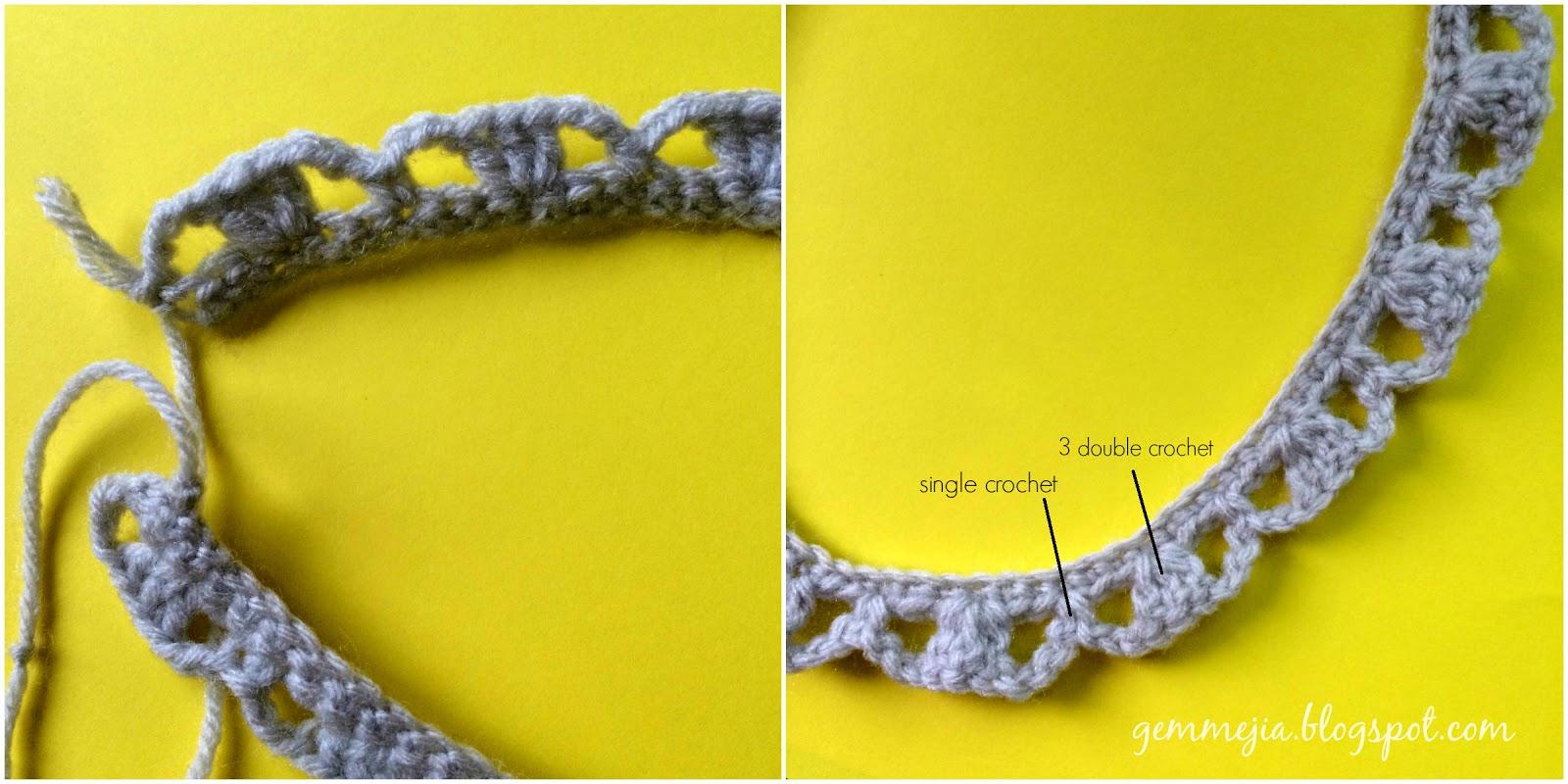 Free Pattern: Crochet Choker - GEMMYBEAR