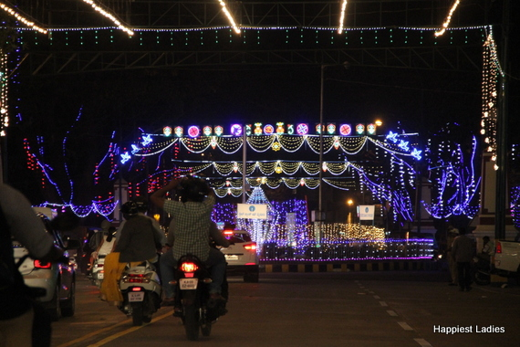 Mysore Dasara Street Lightings15