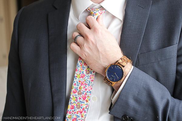 JORD zebrawood watch