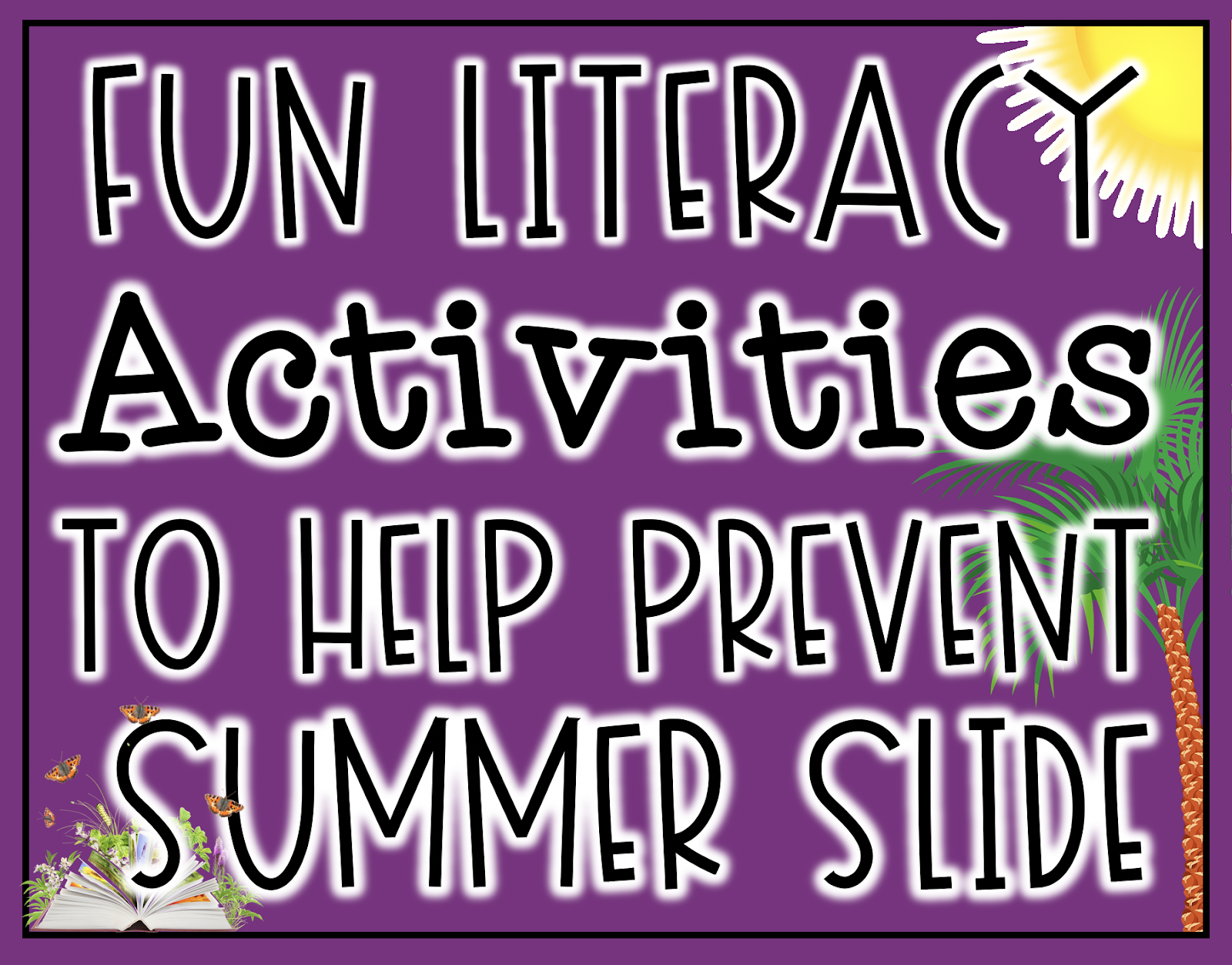 Fun literacy activities to help prevent summer slide that involve STEM and various types of technology.