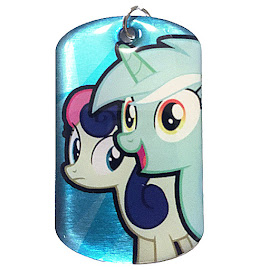 My Little Pony Lyra Heartstrings & Bon Bon Series 1 Dog Tag