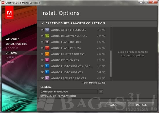adobe cs5 master collection download mac
