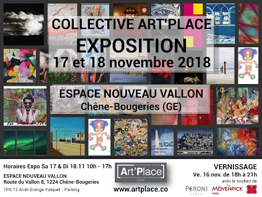 Exposition Collective à Chêne-Bougeries ce Week-End!!!