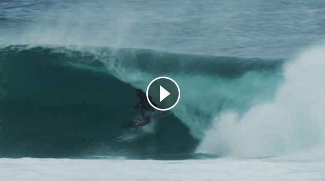 Ethan Ewing, Soli Bailey and Josh Kerr score perfect uncrowded barrels not so far from the hustle and bustle