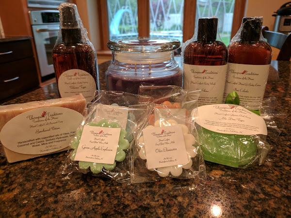 Small Business Bath, Body, Candles, and Soaps: Thompson Traditions