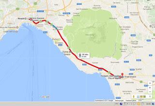 como ir napoles pompeia trem - Como ir de trem de Roma à Pompéia