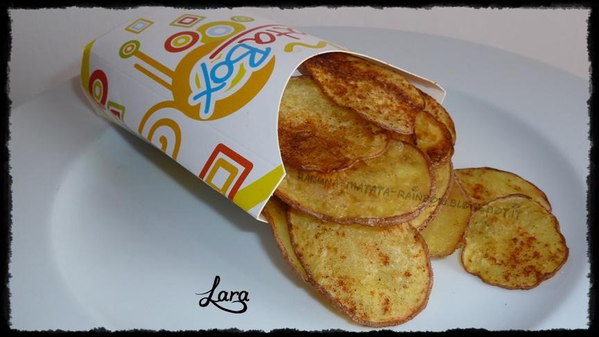 http://cucinaconlara.blogspot.it/2014/01/chips-di-patate-rosse-al-forno.html