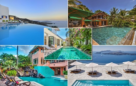 1 Photos: Incredible Private Swimming Pools In Holiday Villas Around The World Lifestyle