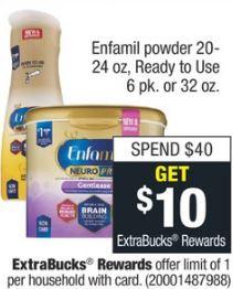 Enfamil powder cvs deal