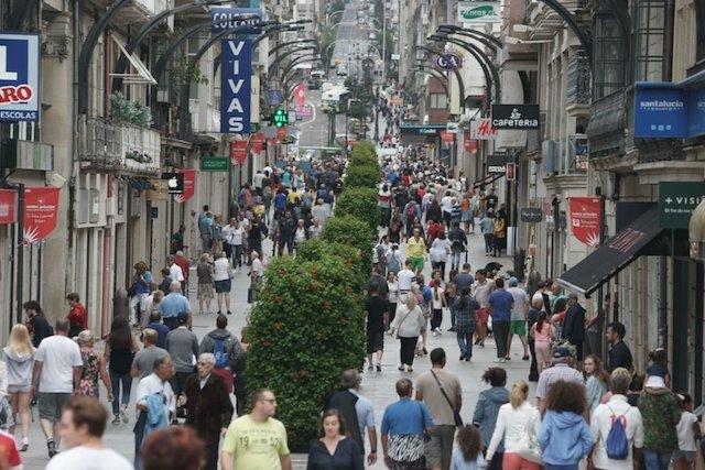 Rua Príncipe em Vigo