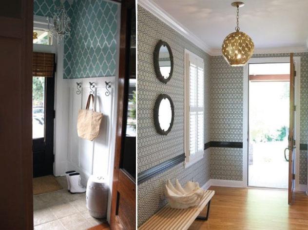 Cute Umbrella Wallpaper Hammers And High Heels Vestibule Project Planning
