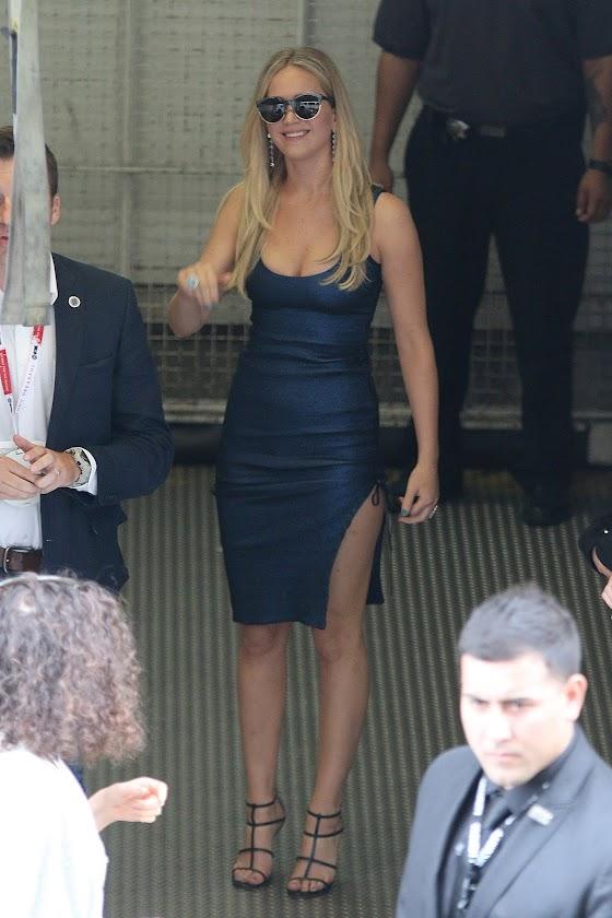 Photo: Jennifer Lawrence of San Diego Comic-Con!
