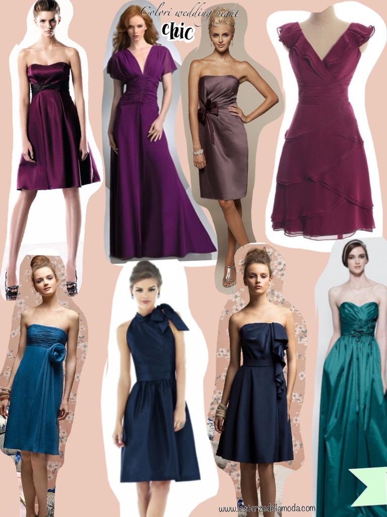 214976b06be9 Colori vestiti per matrimonio di sera – Modelli alla moda di abiti 2018