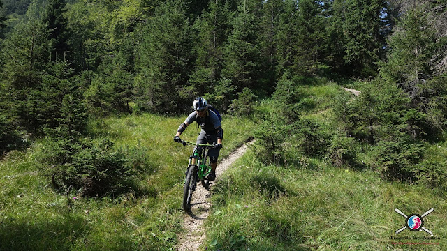 Biken im Flow Valley