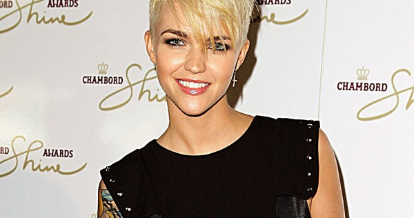 Ruby Rose Celebrity Hair Changes Really: Lady Nape: Ruby Rose Short Hair