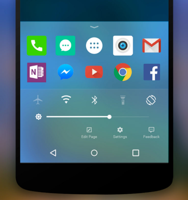 Microsoft has released a launcher for Android in the style of iOS 9