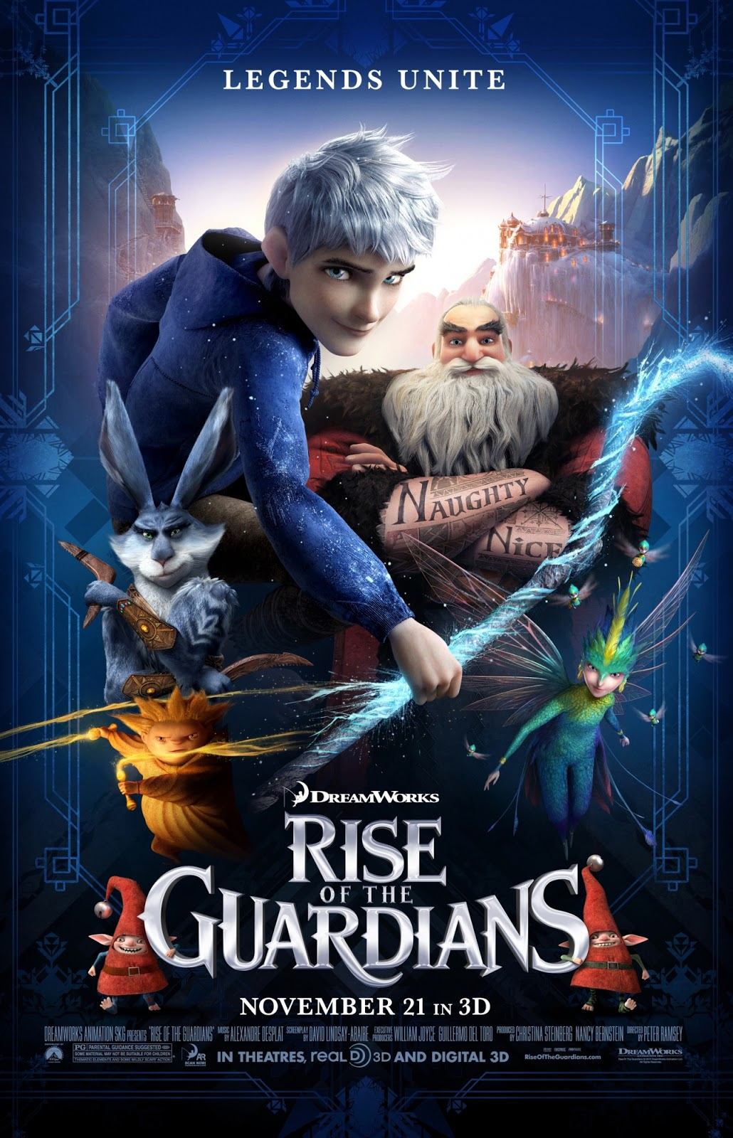 Review rise of the guardians huffpost - Pics of rise of the guardians ...