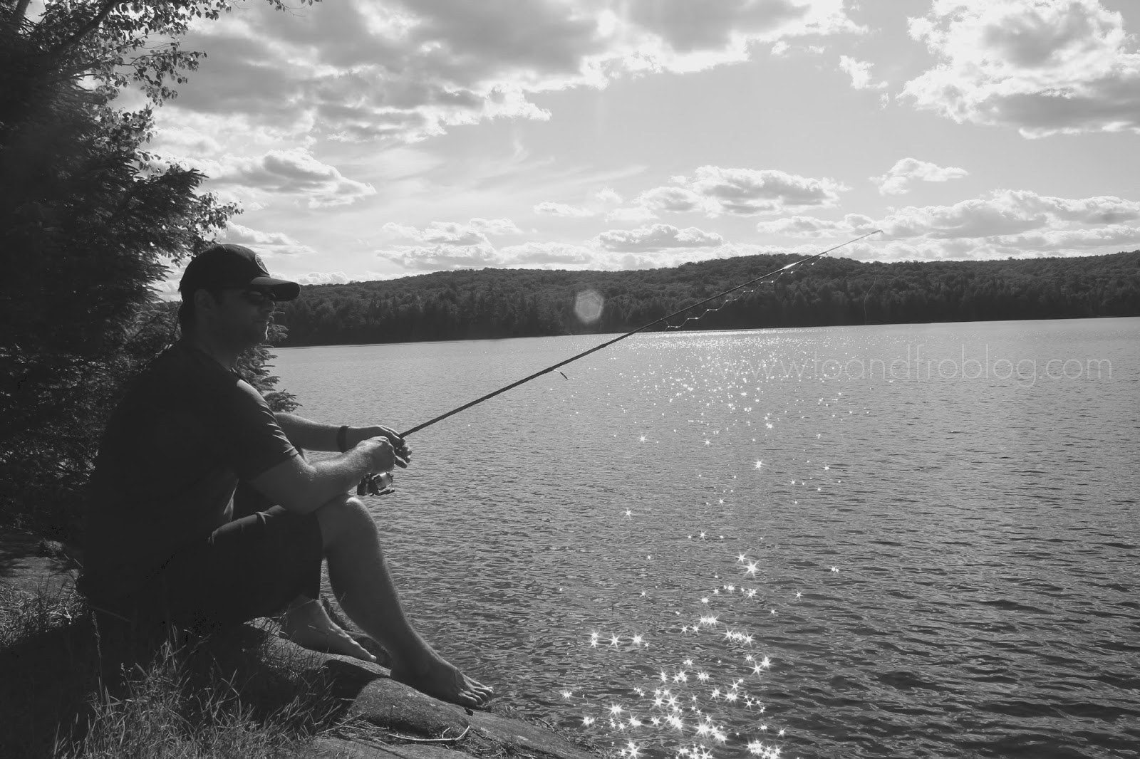 Fishing in Algonquin Provincial Park
