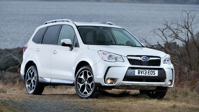 Subaru's all new Forester SUV