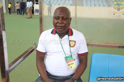 Hearts coach Wellington ill, won't be in dugout vs Karela