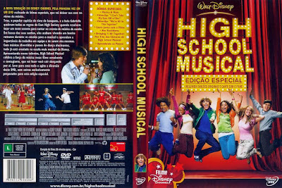 Filme High School Musical DVD Capa