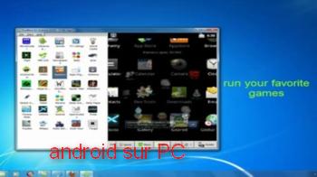 تشغيل تطبيقات الأندرويد في الحاسوب