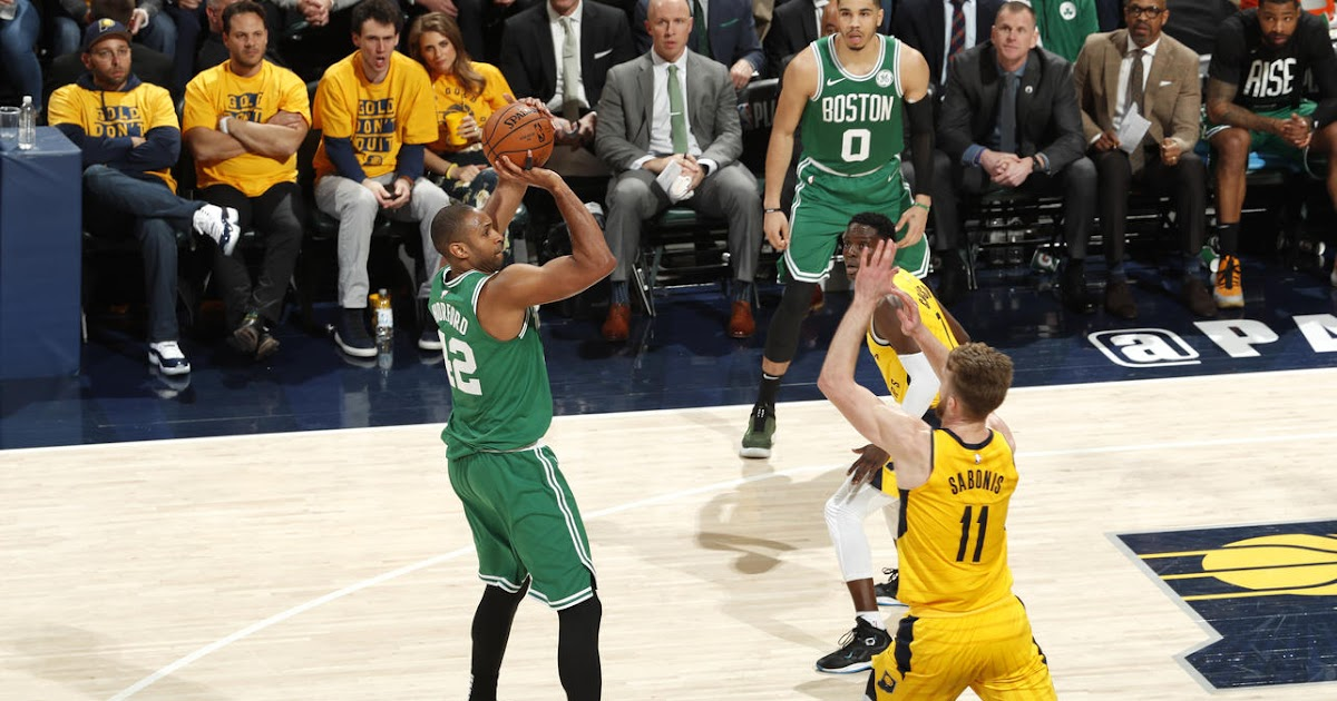 Al Horford is the axis Boston's playoff success orbits, and it shows