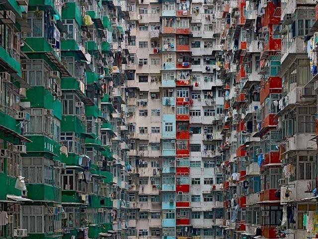 Hong Kong's High-Density Residential Apartments