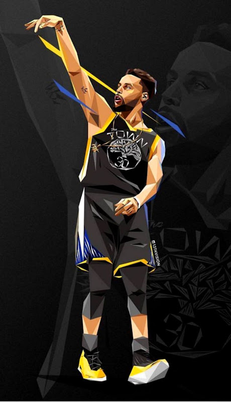 Artwork Cartoon Stephen Curry Wallpaper