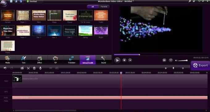 Wondershare Video Editor 3.1.0.4