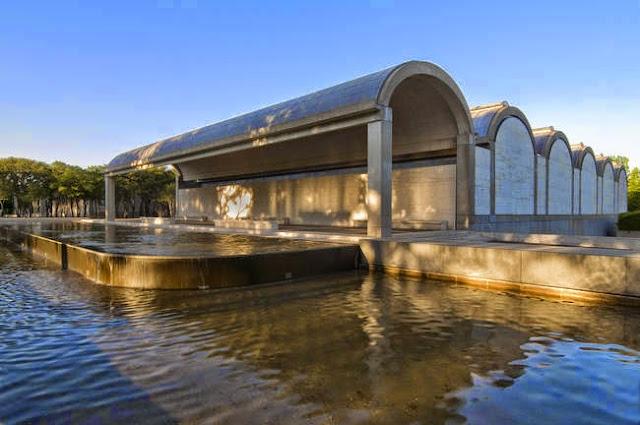 Kimbell Art Museum in Fort Worth   Louis Kahn   1972