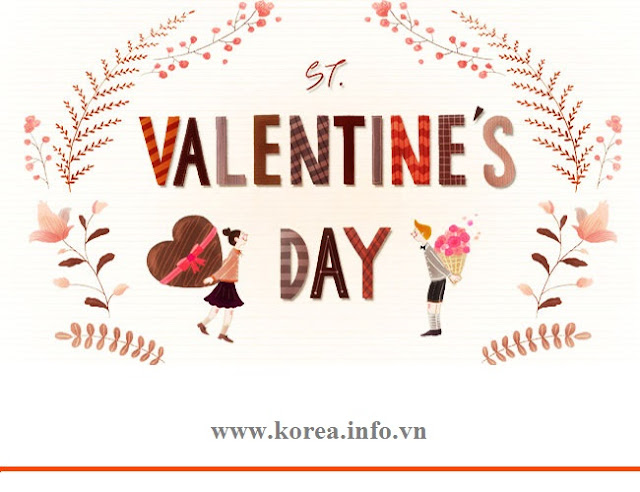 Valentine day tại Hàn Quốc