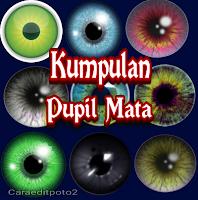 Kumpulan pupil mata png