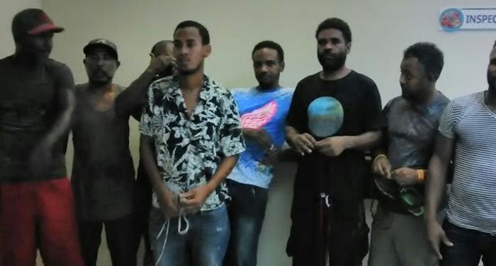 Liberan a ocho dominicanos que estaban detenidos en Haití