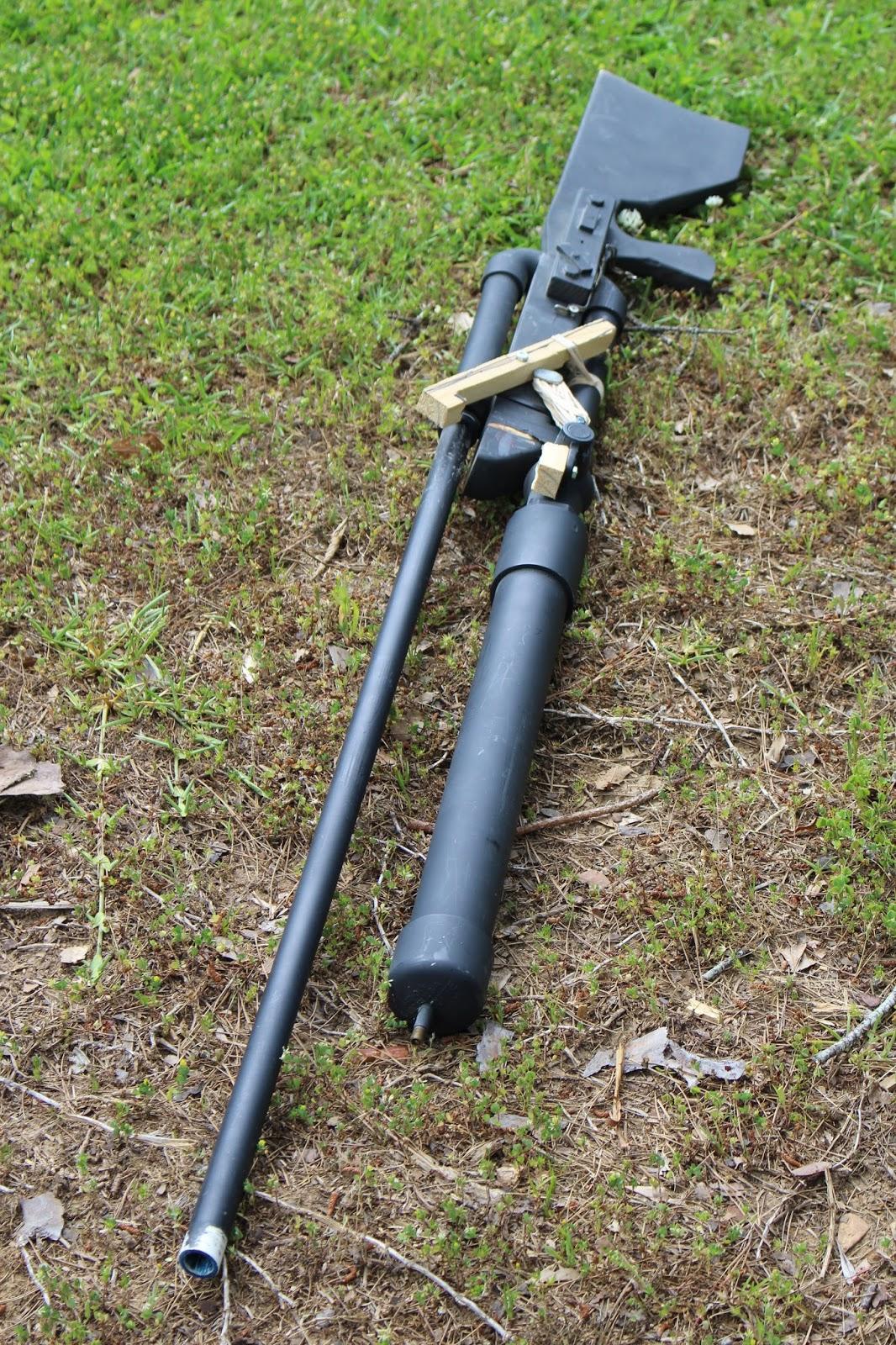 how to make a pvc air gun