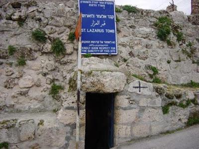 Οι τάφοι του Αγίου Λαζάρου σε Βηθανία και Λάρνακα. Ο μοναδικός ...