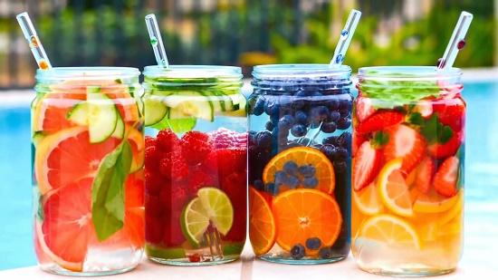 manfaat infus water