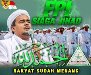 FPI Siaga Jihad Lawan Segala Cara Kecurangan